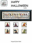 Happy Halloween - Cross Stitch Pattern