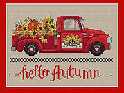 Hello Autumn - Cross Stitch Pattern