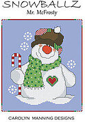 Mr McFrosty - Snowballz - Cross Stitch Pattern