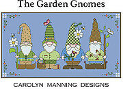 Garden Gnomes - Cross Stitch Pattern