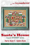 Santa's House 6 - Room 5 - Santa's Room - Cross Stitch