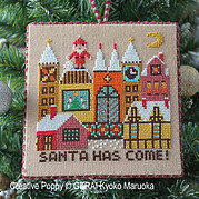 Santa Has Come - Two - Cross Stitch Pattern