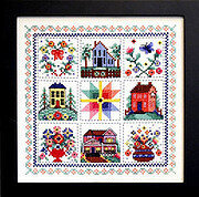 Good Neighbors - Cross Stitch Pattern