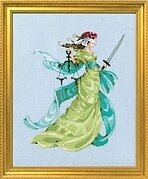 Lady Justice - Cross Stitch Pattern