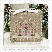 Glitter House 2 - Cross Stitch Pattern