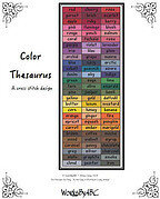 Color Thesaurus - Cross Stitch Pattern