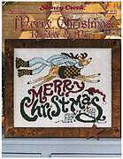 Merry Christmas Reindeer & Mice - Cross Stitch Pattern