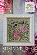 Summer Bliss - Songbird's Garden Six - Cross Stitch Pattern
