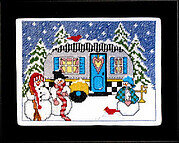 Winter Camper - Cross Stitch Pattern