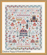 Jane Austen Sampler - Cross Stitch Pattern