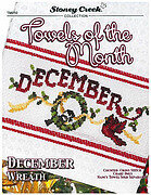 Towels of the Month - December - Cross Stitch Pattern