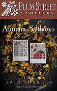 Autumn Saltboxes - Cross Stitch Pattern