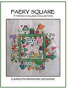 Faery Square - Cross Stitch Pattern