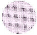22 Count Pale Pink Hardanger Fabric 15x18