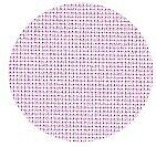 22 Count Pale Pink Hardanger Fabric 18x29