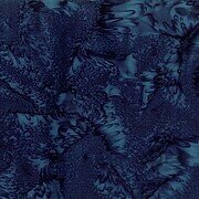 Liquorice Watercolor Batik 100% Cotton Fabric Half Yard
