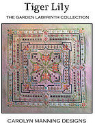Tiger Lily - Garden Labryinth - Cross Stitch Pattern