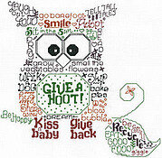 Let's Give a Hoot - Cross Stitch Pattern