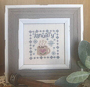 January Squared - Cross Stitch Pattern