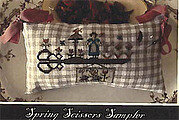 Spring Scissors Sampler - Cross Stitch Pattern