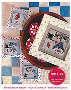 Besties - Cross Stitch Pattern