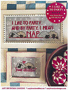 I Like to Party - Cross Stitch Pattern