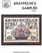 Grayfriar's Sampler - Cross Stitch Pattern