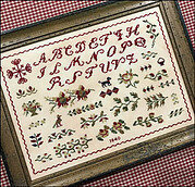 Black Dog Sampler - Cross Stitch Pattern