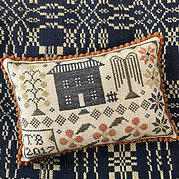 On Coverlet Court - Cross Stitch Pattern