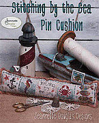 Stitching by the Sea Pin Cushion - Cross Stitch Pattern