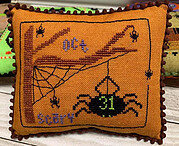 Scary Spiders - Cross Stitch Pattern