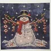 Welcome the Snow - Cross Stitch Pattern