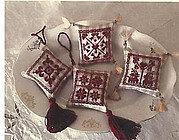 Red Ornaments - Cross Stitch Pattern