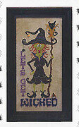 Winifred the Witch - Cross Stitch Pattern