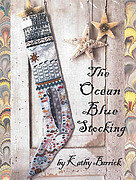 Ocean Blue Stocking, The - Cross Stitch Pattern