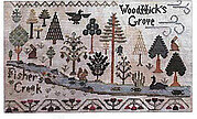 Jeanny Bean Parlor 6 - The Forest - Cross Stitch Pattern