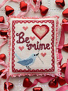 Bluebird's Message - Cross Stitch Pattern