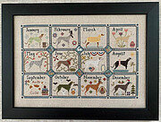 Greyhound Year - Cross Stitch Pattern