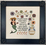 Mermaid's Garden - Cross Stitch Pattern