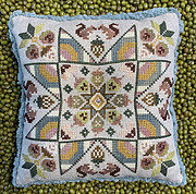 Spring Acorns - Cross Stitch Pattern