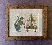 Winter Squirrel - Cross Stitch Pattern