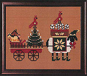 Christmas Delivery - Cross Stitch Pattern