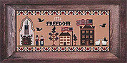 Freedom Lane - Cross Stitch Pattern