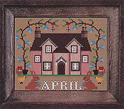 April - I'll be Home Mystery - Cross Stitch Pattern