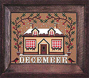 December - I'll be Home Mystery - Cross Stitch Pattern