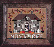 November - I'll be Home Mystery - Cross Stitch Pattern