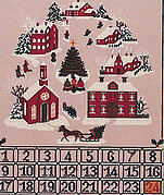 Christmas Advent Calendar - Cross Stitch Pattern