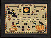 Tis Near Hallowen - Cross Stitch Pattern
