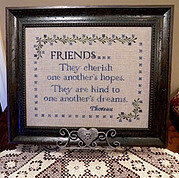 Cherished Friends - Cross Stitch Pattern