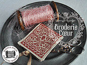Broderie Coeur - Cross Stitch Pattern